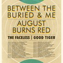 Between the Buried and Me and August Burns Red announce co-headline North American Tour