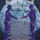 BETWEEN THE BURIED AND ME return to Europe in the summer for a run of festival and club shows!