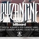 Byzantine enters Billboard charts for new album, 'The Cicada Tree'