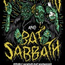 Cancer Bats And Bat Sabbath Announce 'Double Header Bat Madness' Cross Canada Fall Tour