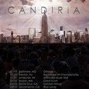 "Candiria premieres ""Wandering Light"" video via DecibelMagazine.com"