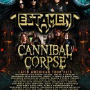 Cannibal Corpse confirms Latin American tour with Testament!
