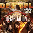 Cattle Decapitation rings in the apocalypse on Decibel Magazine cover