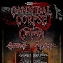 Cannibal Corpse enlist Obituary, Cryptopsy, and Abysmal Dawn for 2016 North American tour