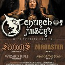 CHURCH OF MISERY confirm new dates for North American tour