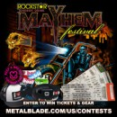 Enter to win tickets to this year's Rockstar Energy Drink Mayhem Fest!