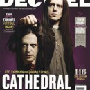 CATHEDRAL cover issue of Decibel Magazine on newsstands now