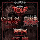 Cannibal Corpse announced for 8th annual Decibel Magazine Tour with Morbid Angel, Immolation, Blood Incantation and Necrot