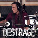 "Destrage launch high quality ""My Green Neighbour"" drum tutorial!"