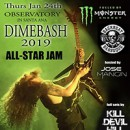 Dave Grohl, Corey Taylor, Rex Brown and 50+ additional stellar musicians join Dimebash 2019 all-star jam line-up on January 24th at Observatory OC in Santa Ana, CA