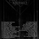 DOWNFALL OF GAIA announces full European tour for April!