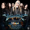 "DragonForce ""Maximum Overload"" scores Billboard Top 200 debut!"