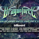 DragonForce enters Billboard charts for new album, 'Reaching into Infinity'