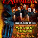 EXUMER announces show in Brooklyn, NY!