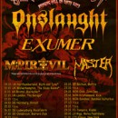 EXUMER to co-headline 'Slaughterfest Tour 2013′ in Europe alongside ONSLAUGHT!