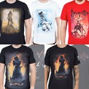 Exclusive Frank Frazetta shirts now available via Metal Blade Records
