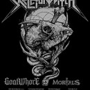 GOATWHORE announce European tour as direct support to SKELETONWITCH in April of 2015!