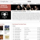Metal Blade Records catalog now available on Google Play; free 30th anniversary sampler available now!