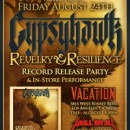 "GYPSYHAWK announce ""Reverly & Resilience"" album release party / in store performance at Vacation Vinyl in Los Angeles"