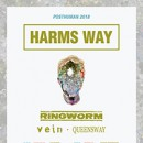 Harm's Way announces North American headlining tour with Ringworm, Vein, Queensway