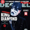 KING DIAMOND featured on the cover of Decibel Magazine's January issue