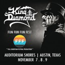 King Diamond confirms US festival appearance at Fun Fun Fun Fest