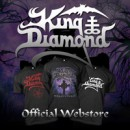 Official KING DIAMOND Merch Store and Website Now Live!