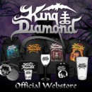 New KING DIAMOND Merchandise now available: coffee mug, pint, glass, and more
