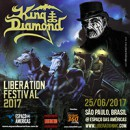 King Diamond Confirms Return to Brazil in June 2017