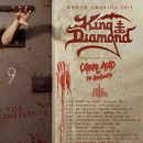 King Diamond announces North American tour dates with Uncle Acid & the Deadbeats, Idle Hands