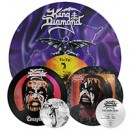 King Diamond: 'Conspiracy', 'The Dark Sides', 'The Eye' LP re-issues now available via Metal Blade Records