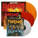 Manowar: 'Fighting the World', 'Kings of Metal', 'The Triumph of Steel' LP re-issues now available via Metal Blade Records