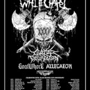 Whitechapel, Cattle Decapitation, Goatwhore, and Allegaeon to tour the USA this spring, celebrating Metal Blade Records' 35th anniversary
