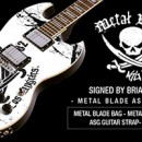 Limited Edition Metal Blade Artist Series Guitar Available Now