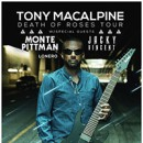 Monte Pittman announces North American tour with Tony MacAlpine, Lonero
