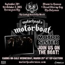 "MOTOR SISTER to Take Part in Motorhead's ""Motorboat"""