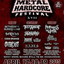 New England Metal and Hardcore Festival Announce additional acts: The Red Chord, Allegaeon, Rivers of Nihil, Overcast, and more
