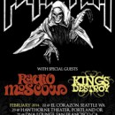 Legendary Cult Rockers PENTAGRAM Announce West Cost Tour with Radio Moscow and Kings Destroy