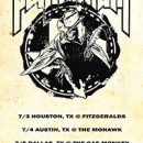 PENTAGRAM confirms three Texas appearances for July
