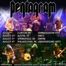 PENTAGRAM confirms select US shows in July and August