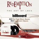 Redemption debuts on Billboard charts for new album, 'The Art of Loss'