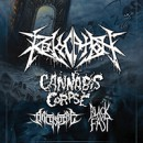 Revocation announces headlining tour with support from Cannabis Corpse!