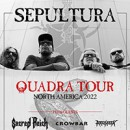 Sacred Reich announces rescheduled North American tour dates with Sepultura, Crowbar, Art Of Shock