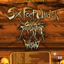 SIX FEET UNDER announces tour with CATTLE DECAPITATION, WRETCHED