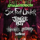 "SIX FEET UNDER announce ""East Coast Armageddon"" tour"