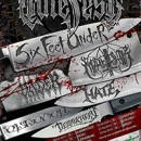 SIX FEET UNDER confirmed as headliners for HATEFEST tour 2015 featuring Marduk and Vader among others!