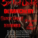 SIX FEET UNDER add another date and announce support bands for European tour!