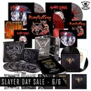 "Slayer / Behemoth CDs, vinyl, and imports on sale now via Metal Blade Records for ""Slayer Day"" (June 6th)"