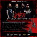 SiriusXM Liquid Metal has your chance to win a trip for two to see Slayer with Lamb of God and Behemoth LIVE in Las Vegas!