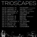 TRIOSCAPES confirm tour dates for April